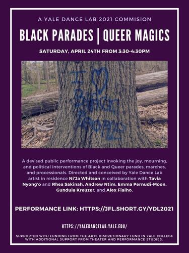 Black Parades. Queer Magics. POSTER